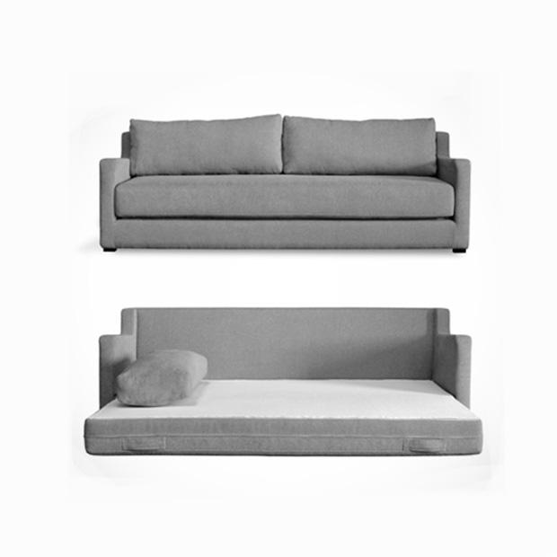 Flip Sofa Bed For Playroom Guest Room Futon Bedroom