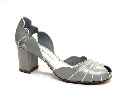 Sapato cinza! Uma ótima opção!