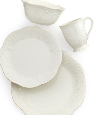 Lenox Dinnerware French Perle 4 Piece Place Setting  sc 1 st  Pinterest & Lenox Dinnerware French Perle 4 Piece Place Setting | Dinnerware ...