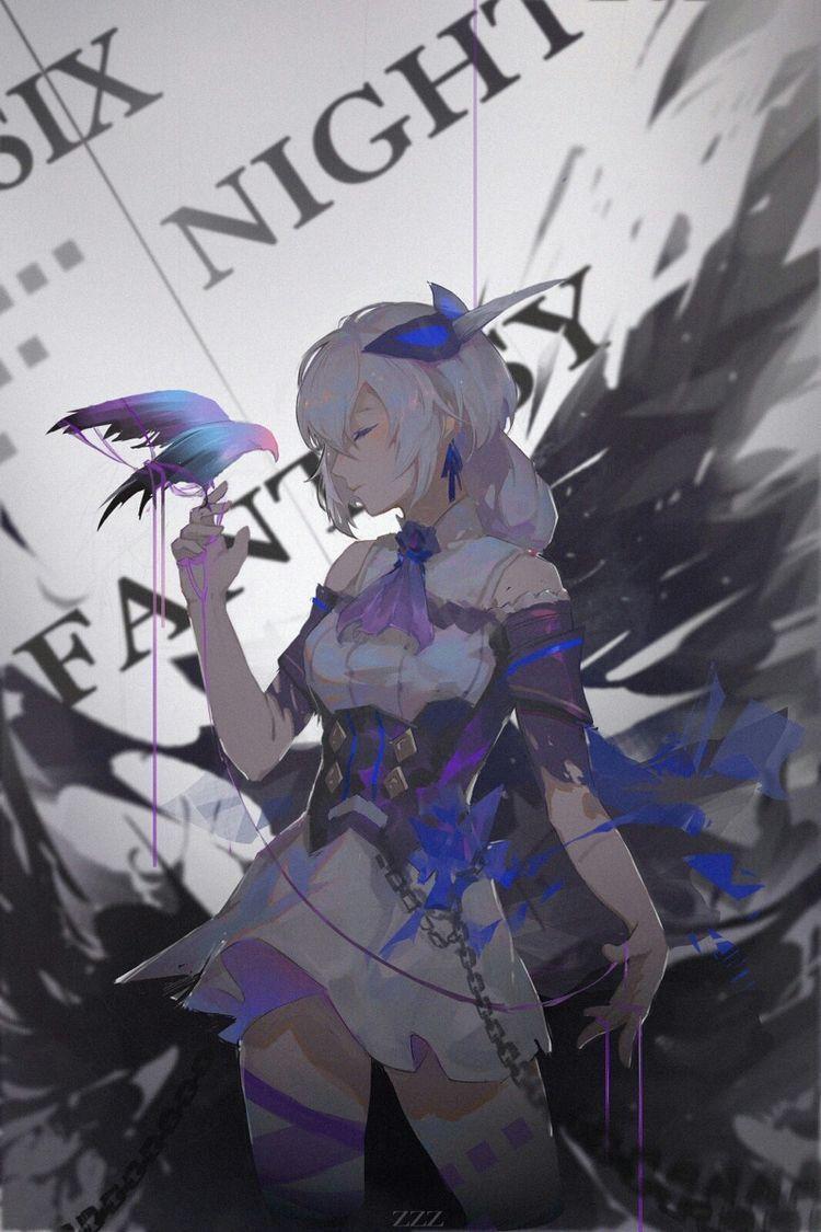 [Tạp Nham] Gửi ảnh Anime, Nghệ thuật anime và Tóc xanh lá