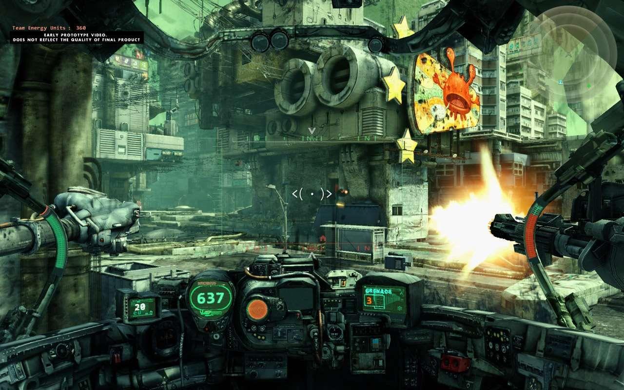 Hawken war is a machine × Wallpaper HD for your Desktop