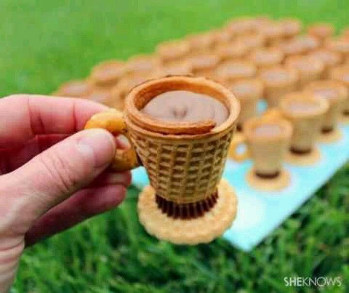 Great caramel cups for your parties