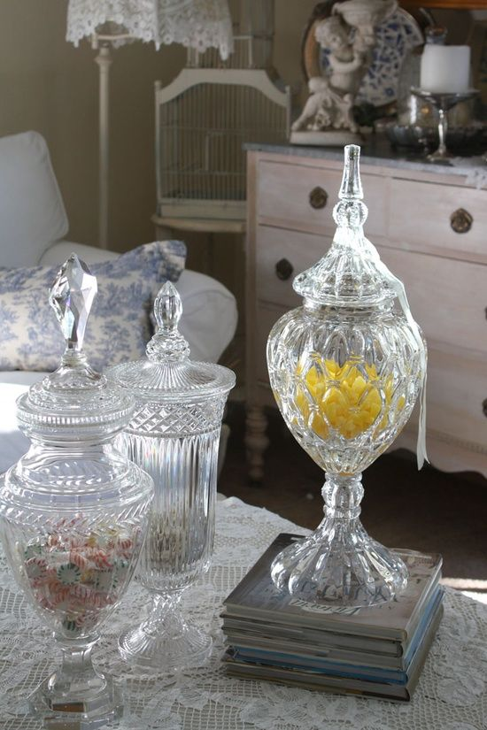decorating ideas crystal apothecary jars apothecary jar decor