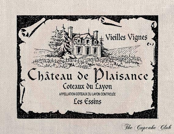 Vintage French Clip Art | Clip Art Design Transfer Digital File Vintage Download DIY Scrapbook ...