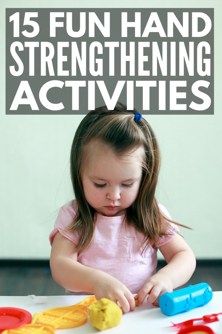 Fine Motor Development: 15 Hand Strengthening Exercises For Kids #strengtheningexercises
