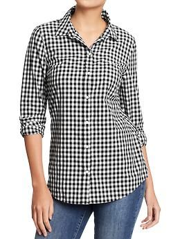 Women's Lightweight Patterned Shirts | Old Navy. Been looking for ...