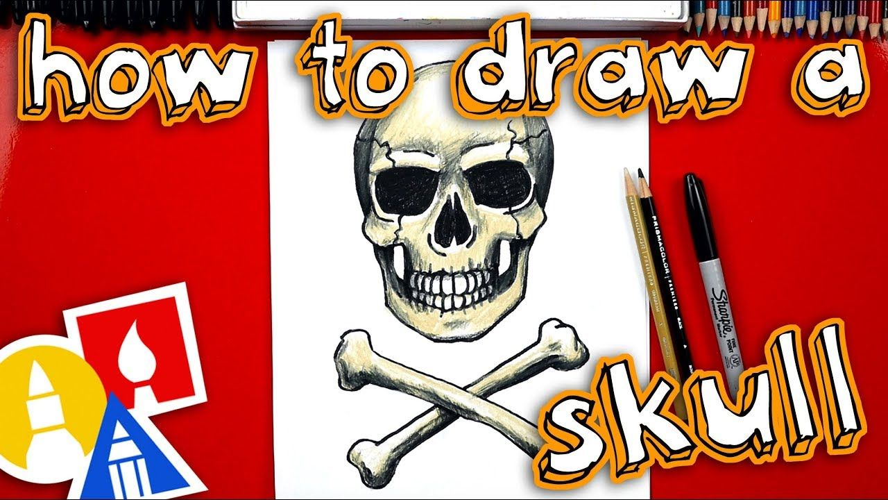 How To Draw A Realistic Skull And Crossbones Drawings Skulls Drawing Skull And Crossbones