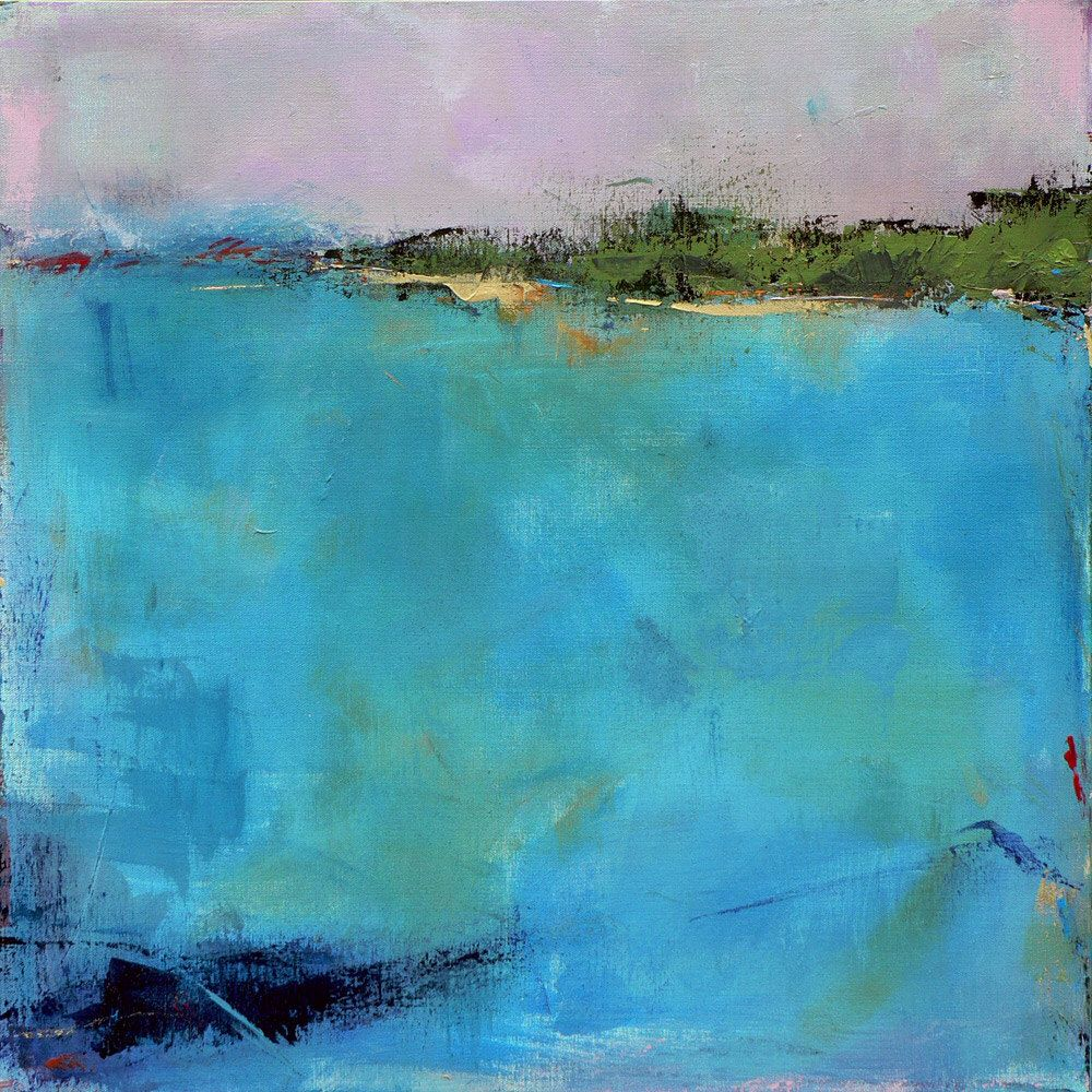 Etsy Art Contemporary Abstract Landscape Painting West Elm Artist