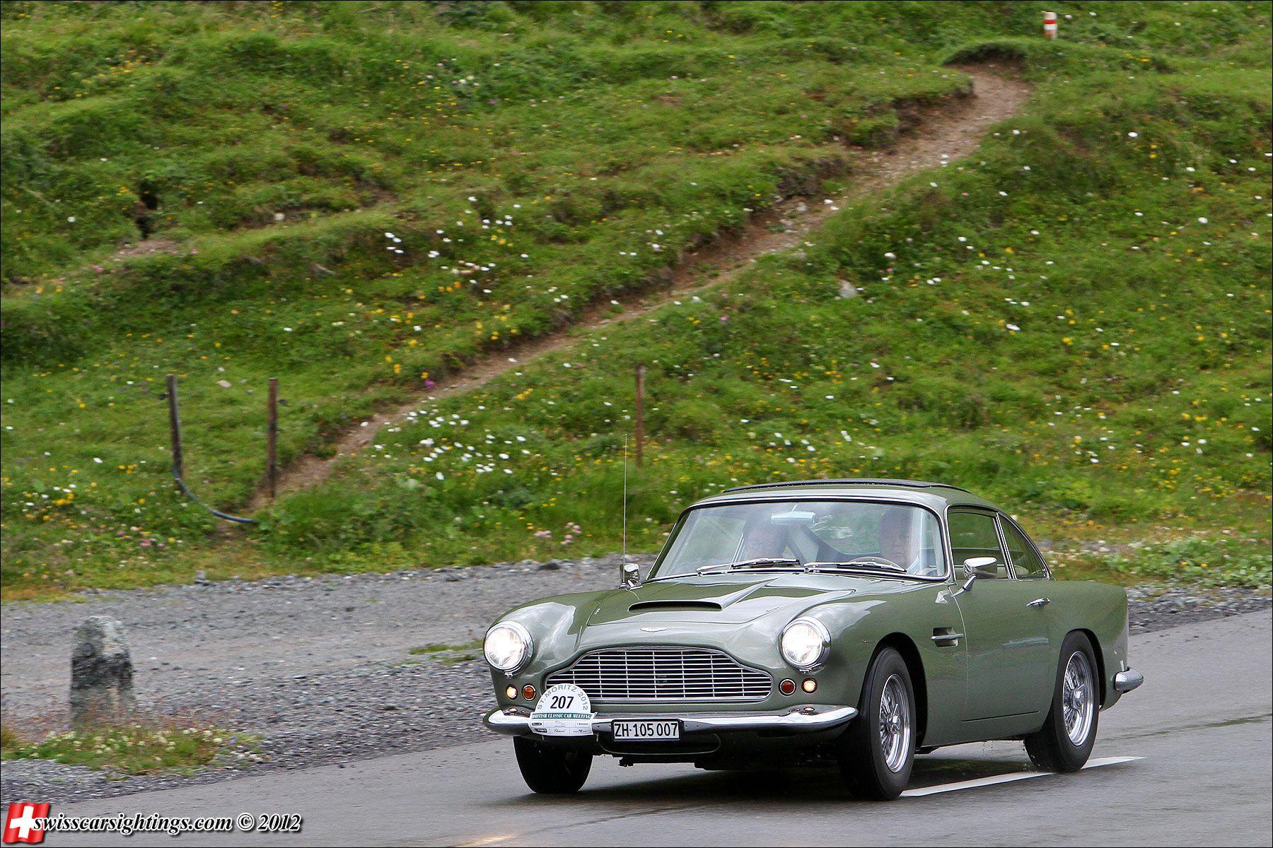 Aston Martin DB4 via swisscarsightings