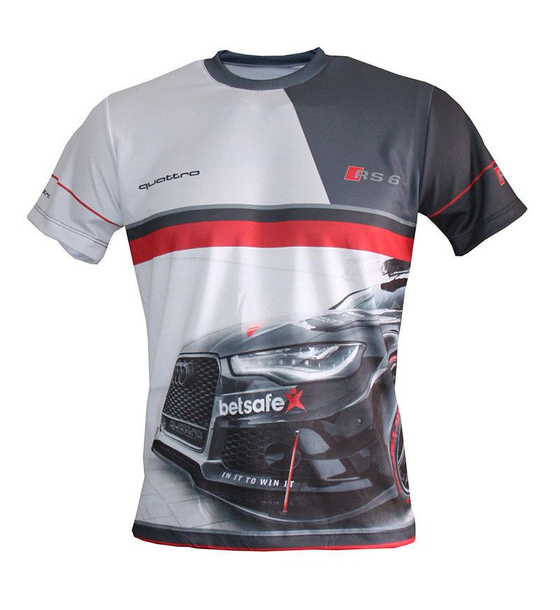 Audi Sport   S-line - Full Sublimation Print T-shirt   quattro   gecko S3  RS6 S4 in 2019  f911e1aa6b887