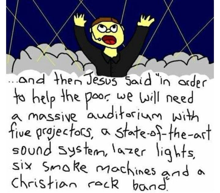 Jesus, said this..... NEVER!!!!