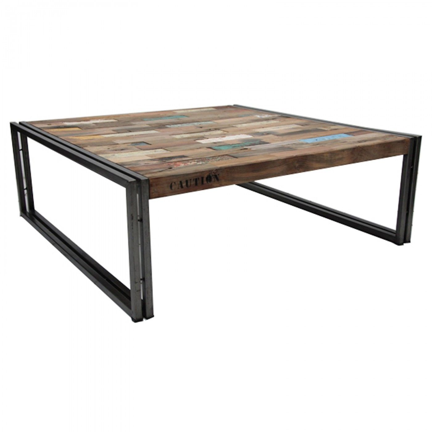 tables » coffee tables » loft square coffee table large | square