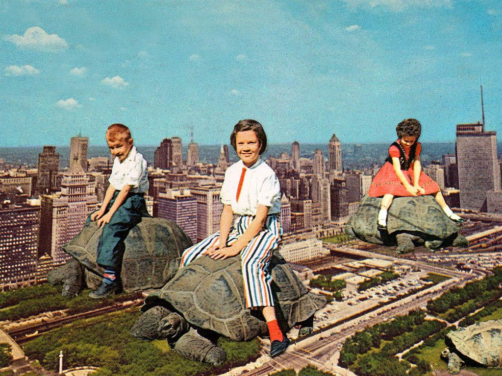 Bizarre Photograph Collages Transport You into a Surreal Past - http://blog.dashburst.com/pic/surreal-vintage-photograph-collages/