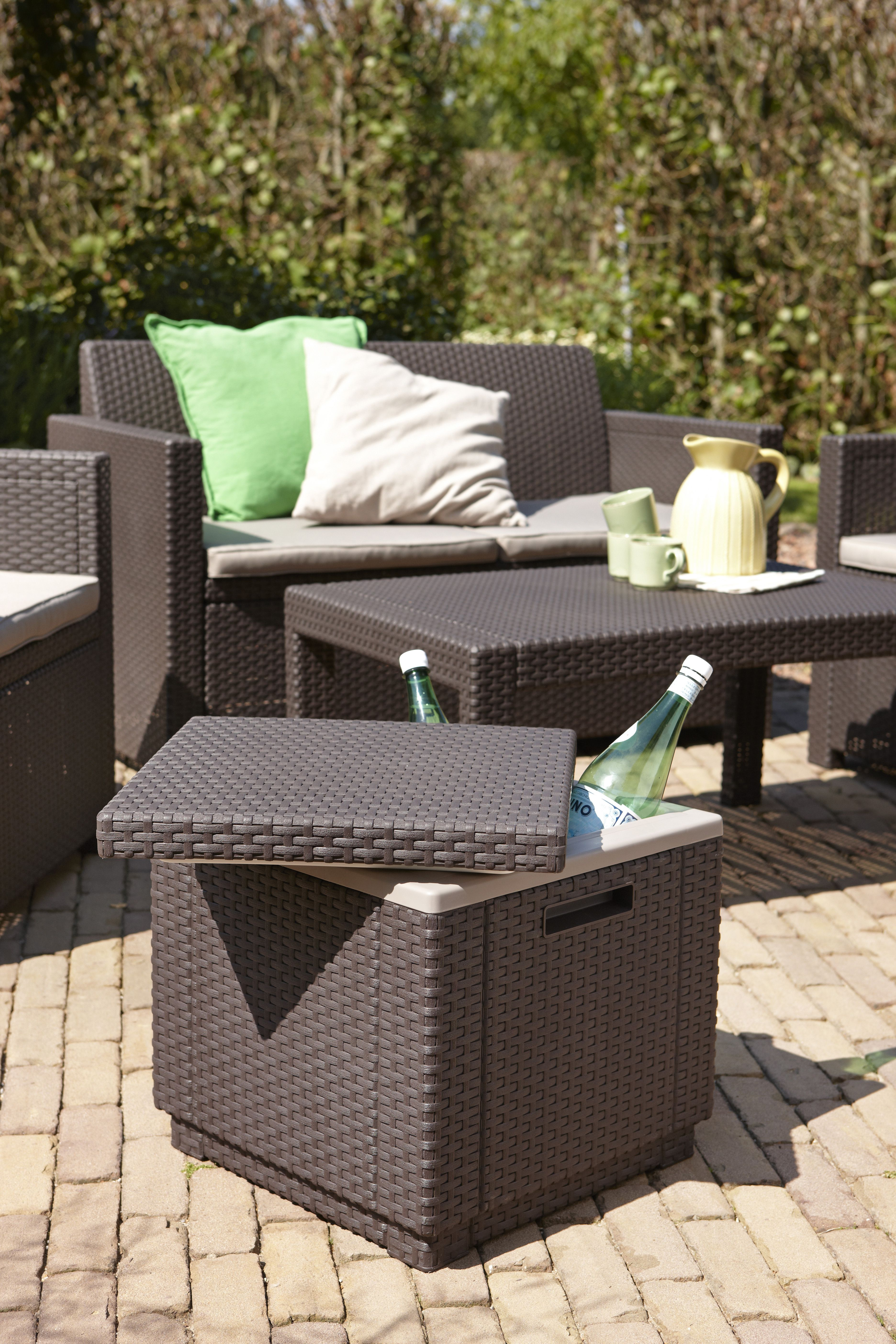 Muebles para la terraza jardines y porche decor for Amazon muebles terraza