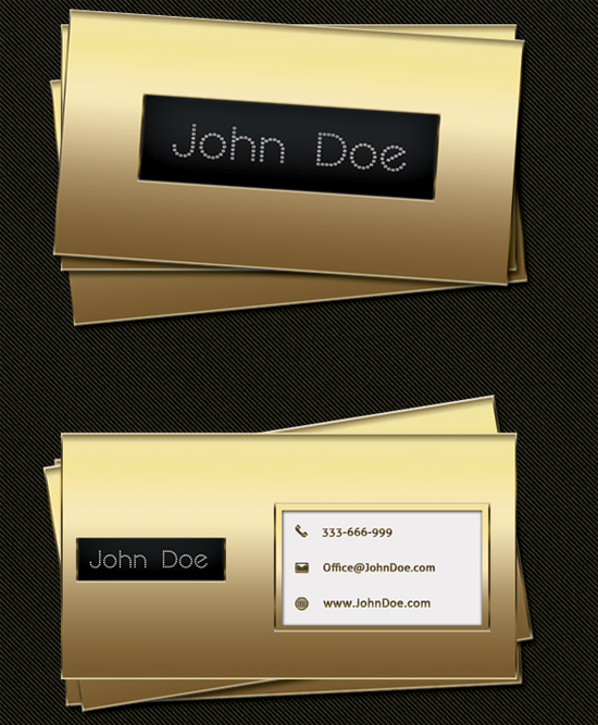 50 Free Photoshop Business Card Templates Gold Business Card Event Planning Business Cards Luxury Business Cards