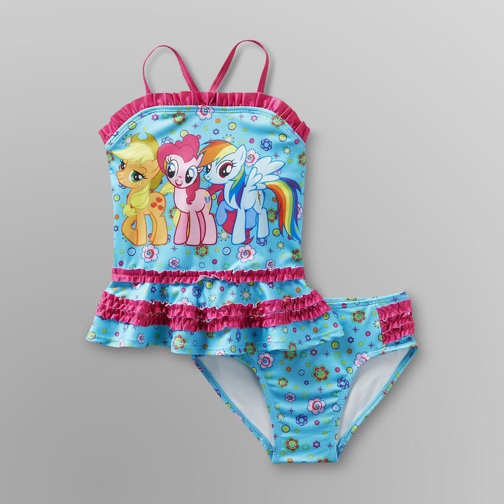 d867e35cb8c34 My Little Pony bathing Suit | Beso | Toddler suits, My little pony ...