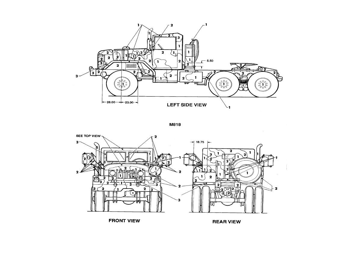 Figure 62 Truck Tractor 5 Ton 6 X 6 M818 2 Of 2