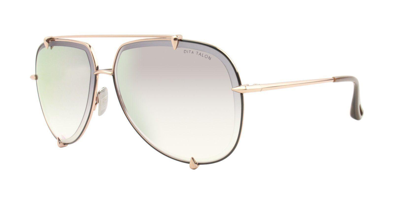 492d19288ba Dita - Talon Rose Gold - Gold These DITA talon rose gold sunglasses have  gold-