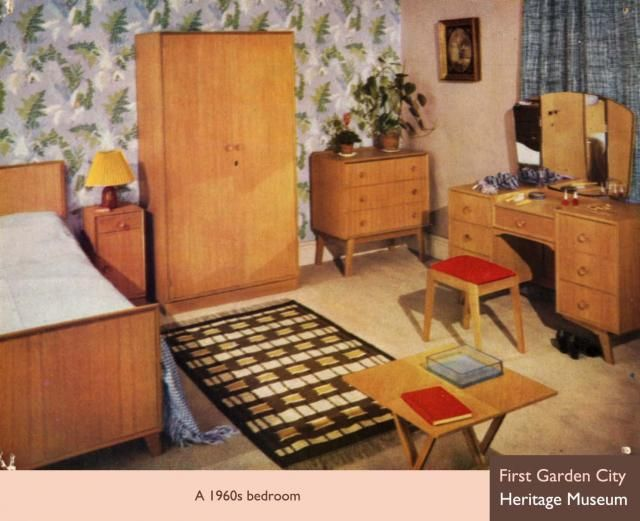 Bedroom Furniture Mid Century Modern Bedroom Set By Bassett 1960 ...