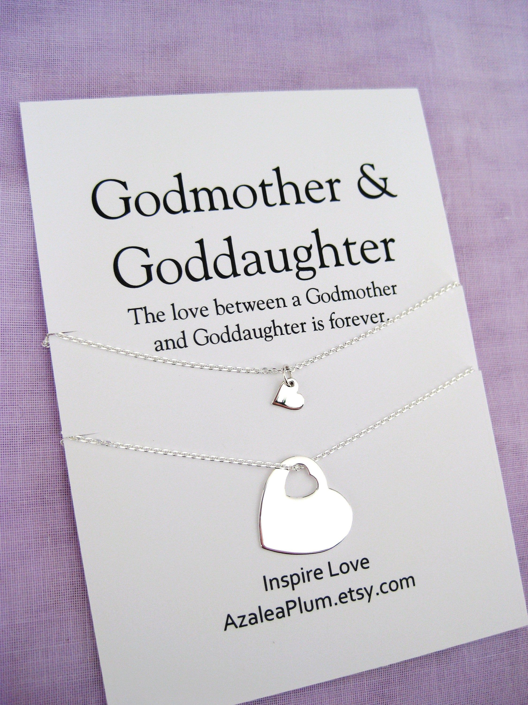 Godmother Necklace Gift Godmother Gift Godmother Godmother