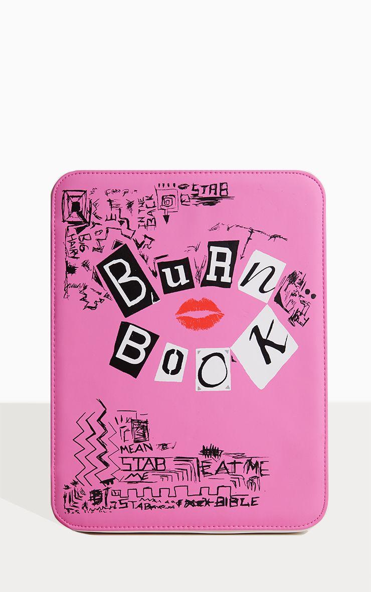 Spectrum X Mean Girls Large Brush Holder Burn Book Mean Girls Burn Book Mean Girls Mean Girls Makeup