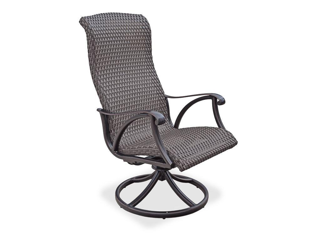 Patio Chair Swivel Rocker