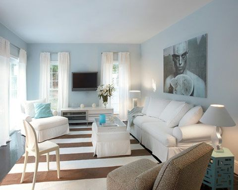 Robyn Karp Interiors With Innovative Interior Designs Light Blue Rooms Light Blue Paint Colors Blue Living Room