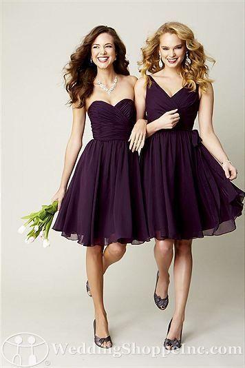Eggplant Cocktail Dresses - Ocodea.com