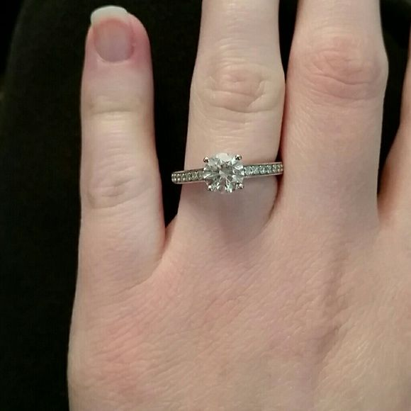 Swarovski Round Attract Ring Beautiful crystal ring! Could be used as an  engagement ring. Size 6. Worn but in great condition. Box included. 71c09c5629