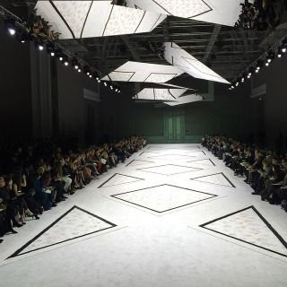 Collections showstudio the home of fashion film - Fashion show stage design architecture plans ...