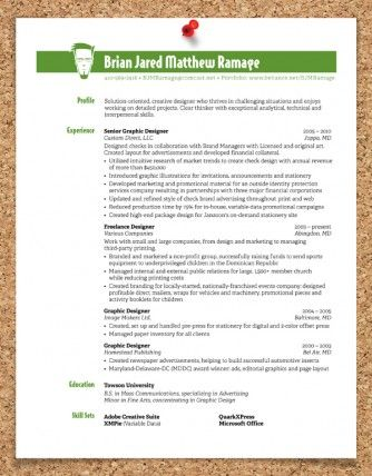 curriculum vitae and resume design ideas so cool! Life - cool resume ideas
