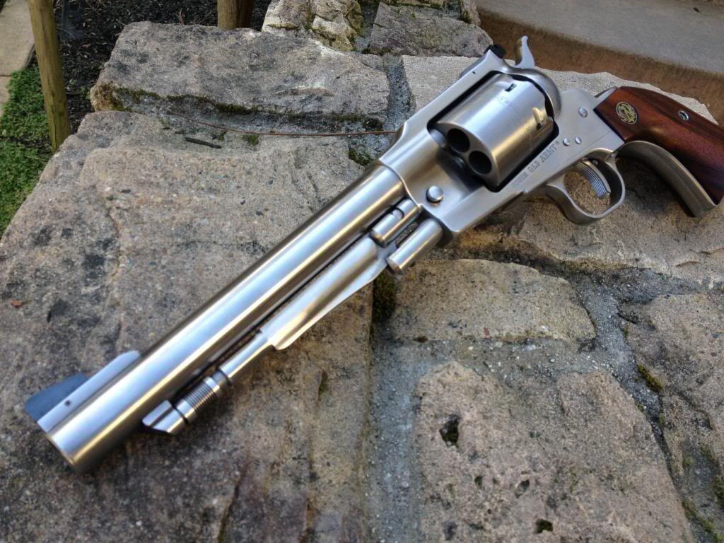 Ruger Old Army .45 Colt Black Powder RevolverLoading that magazine ...