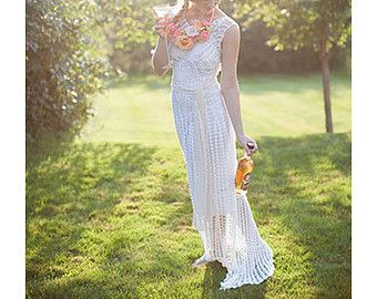 CROCHET Wedding Dress PATTERNTutorialCrochet PatternCrochet