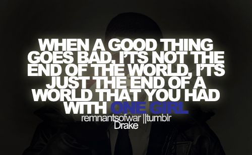 When A Good Thing Goes Bad Its Not The End Of The Worldits