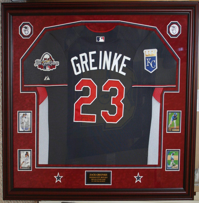 half off 8acf6 d39db Zack Greinke - Kansas City Royals - 2009 All Star Game ...