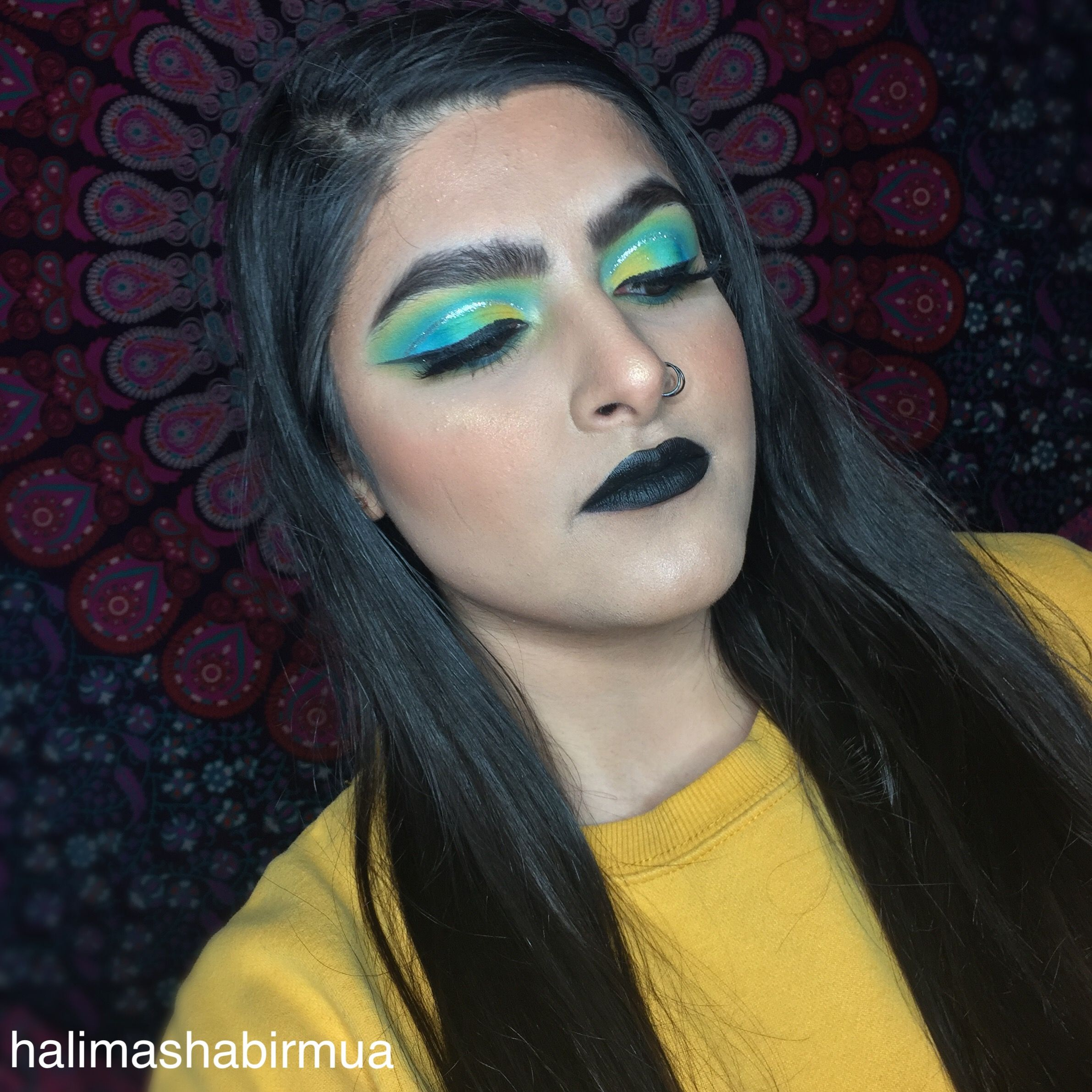 I filmed a tutorial for this look, decided to do two lip