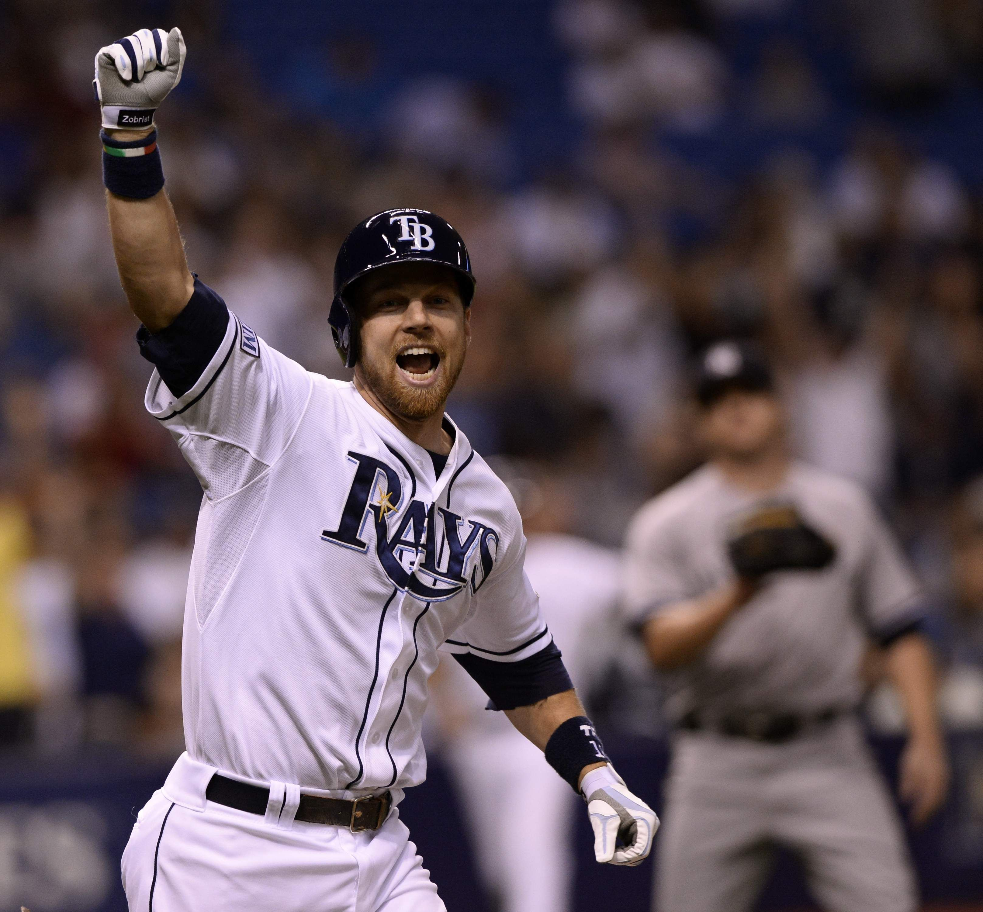 Rays Final Homestand Starts With Walkoff Win Over The Yankees Ben Zobrist Gets A Single In The Bottom Of The 9th To Beat Yankee Yankees Tampa Bay Rays Finals