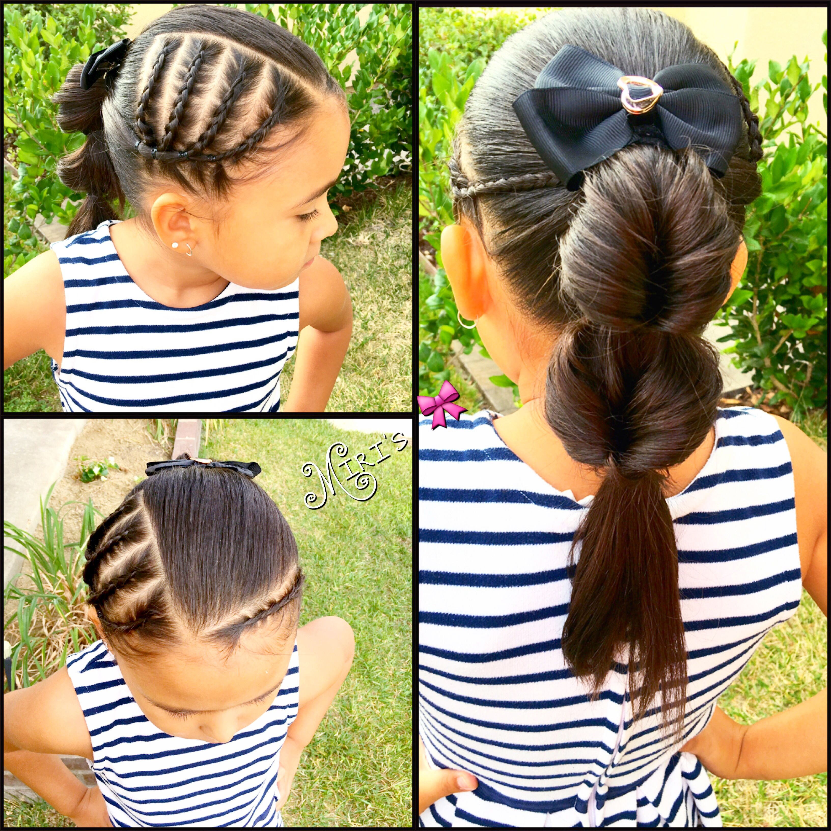 Braids hair style for little girls   Braided hairstyles ...