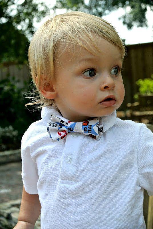 Bow tie  little boys double bow sports bowtie par AddisonRenee