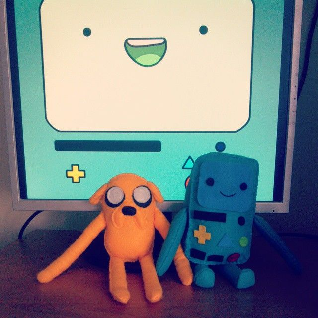 Jake and Bmo Aventure Time