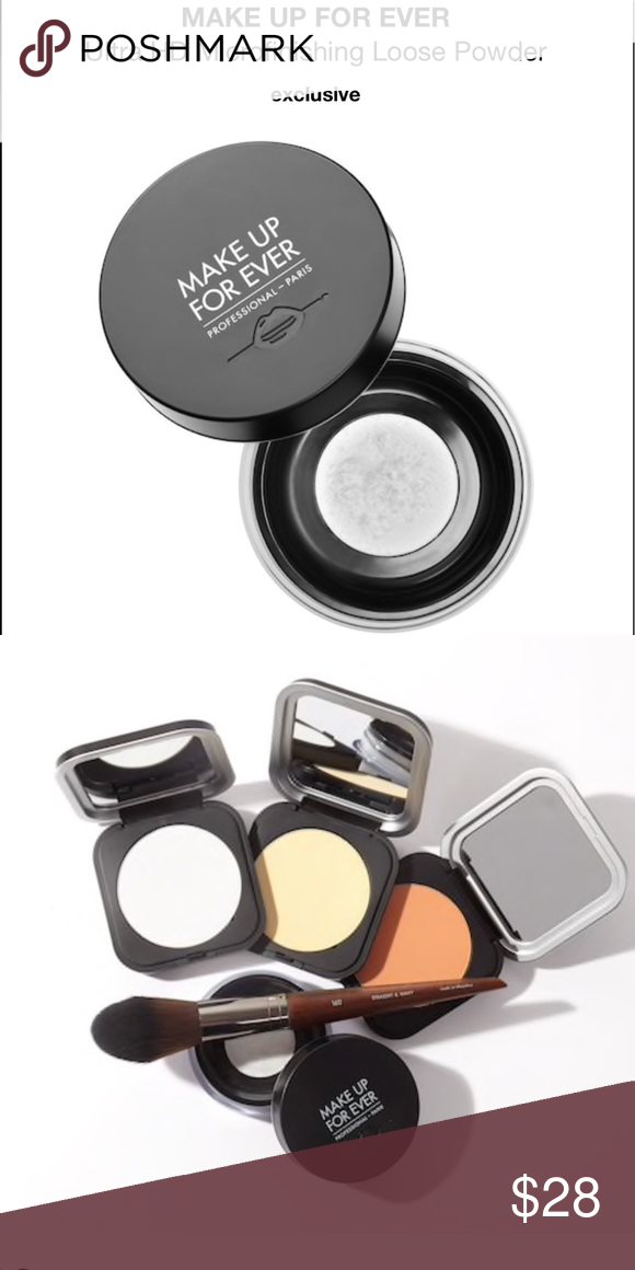 MAKE UP FOR EVER Microfinishing Loose Powder NWT Loose