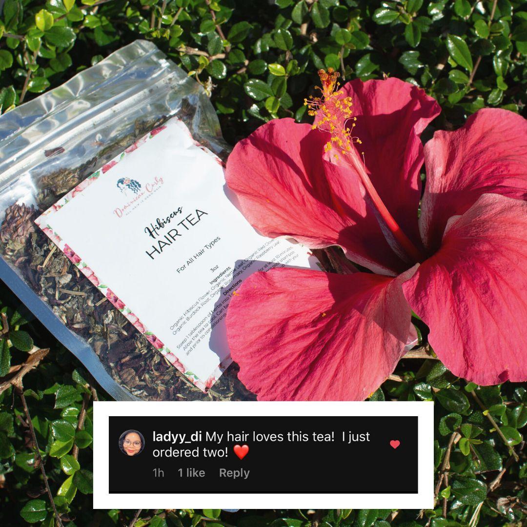 Hibiscus Hair Tea In 2020 Hair Tea Herbal Hair Rinse Hibiscus
