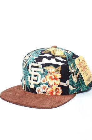 reputable site b161f 39e9c San Francisco Giants Hawaiian Haven Strapback Hat (Floral ...