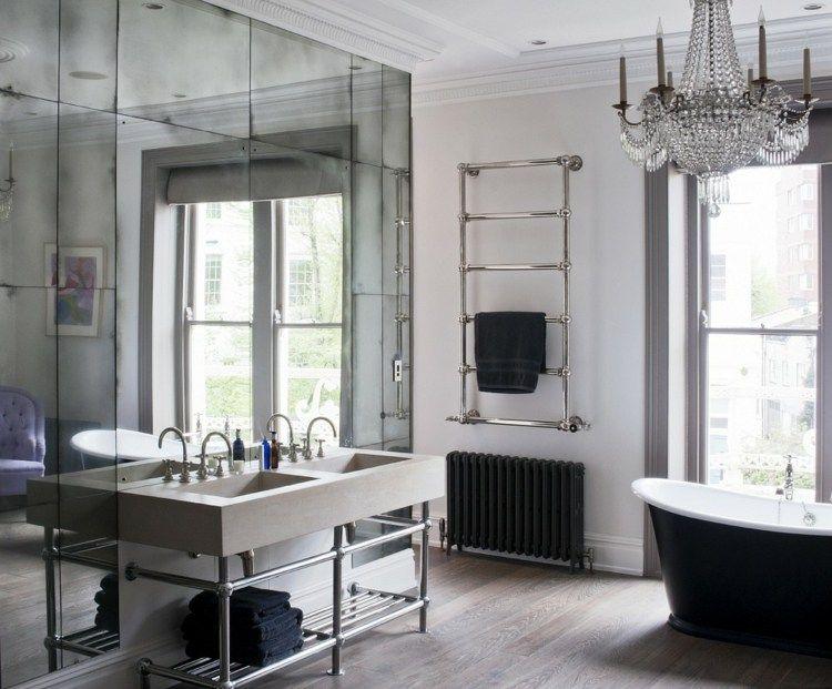 Zimmer Mit Spiegel Wand Fur Optische Effekte Mit Edlem Look