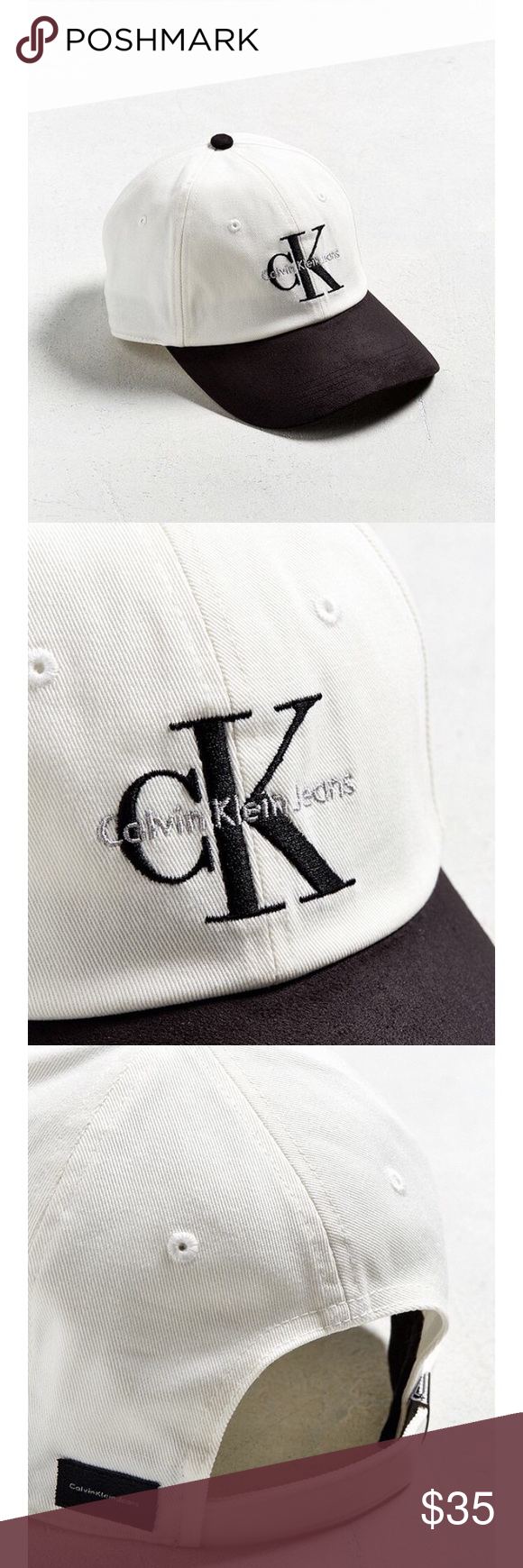 5d56a4c1710eef CK logo at front. Logo label at the back. Six-panel silhouette. Adjustable  strapback closure. BRAND NEW! With tag. Never used! Calvin Klein  Accessories Hats