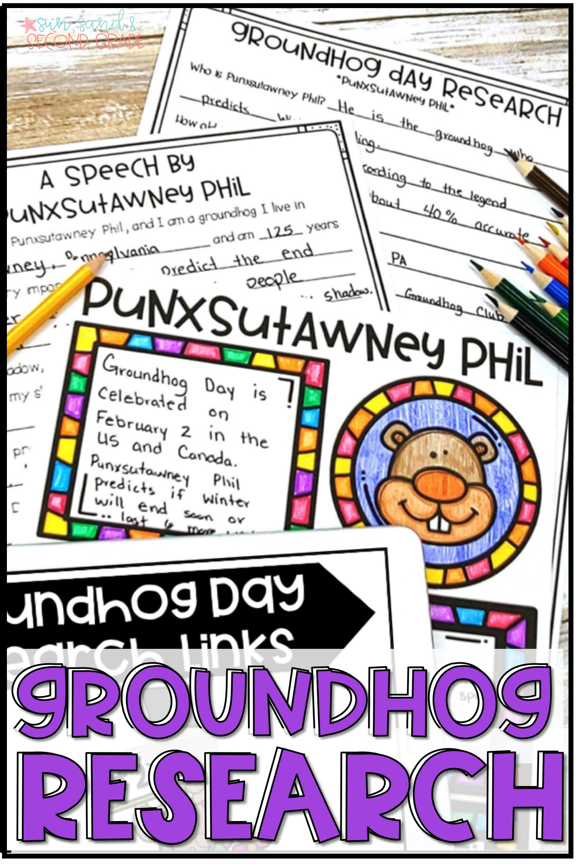 Looking For Fun Groundhog Day Activities For Your Second Grade Or Third Grade Students These Groundhog Day Pr Groundhog Day Activities Groundhog Day Groundhog [ 2999 x 1999 Pixel ]