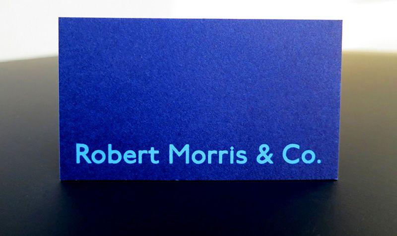 Business card bright blue paper light blue foil eli abeth business card bright blue paper light blue foil reheart Gallery
