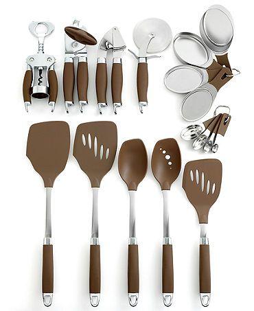 Anolon Kitchen Utensils Bronze Collection