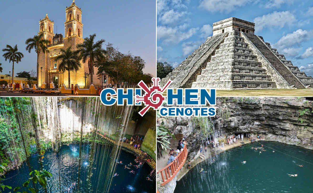 Chichen Itzá 2 Cenotes Y Valladolid Desde Cancún Precio Mexicano Chichen Itza Tour Chichen Itza Viajes A Cancun