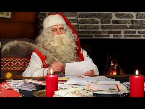 Babbo Natale 7 Cervelli.Haastattelu Joulupukki Joulupukin Pajakylassa Must Be Santa